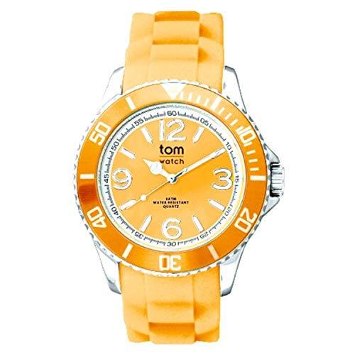 tom watch Damen Analog Quarz Uhr mit Gummi Armband WA00126