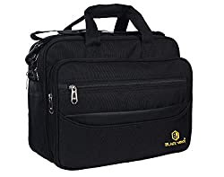Black Mirror High Durable Water Resistant Polyester Office/Messenger Bags for Men and Women (Black),Black mirror,BM-EXLP-001