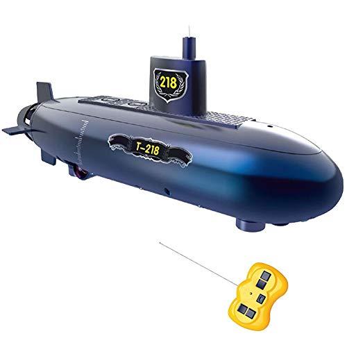 fuwinkr Juego de Juguete Submarino a Control Remoto, Kit de Laboratorio de Ciencias, Barco de Carreras RC, Juguetes educativos para niños, Fiesta de cumpleaños de Navidad