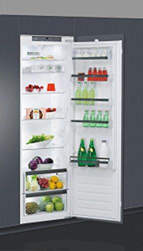 Réfrigérateur encastrable Whirlpool ARG18081A++ - Réfrigérateur encastrable 1 porte - 318 litres - Froid brassé - Dégivrage automatique - Classe A++ / Intégrable
