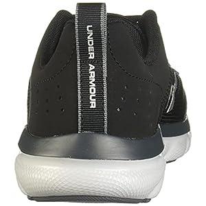 Under Armour Unisex-Youth Grade School Assert 8 Sneaker, Black (001)/Pitch Gray, 6.5
