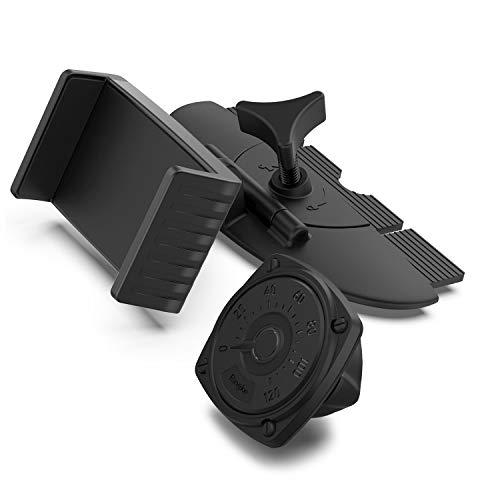 Ringke CD Slot Mount, Soporte Movil Coche para Lector de CD [2 en 1 - Soporte de Fijación Fuerte + Cabeza Magnética Extra] Soporte Móvil Coche Ajustable Universal Compatible con iPhone 12/Pro/Max/Mini