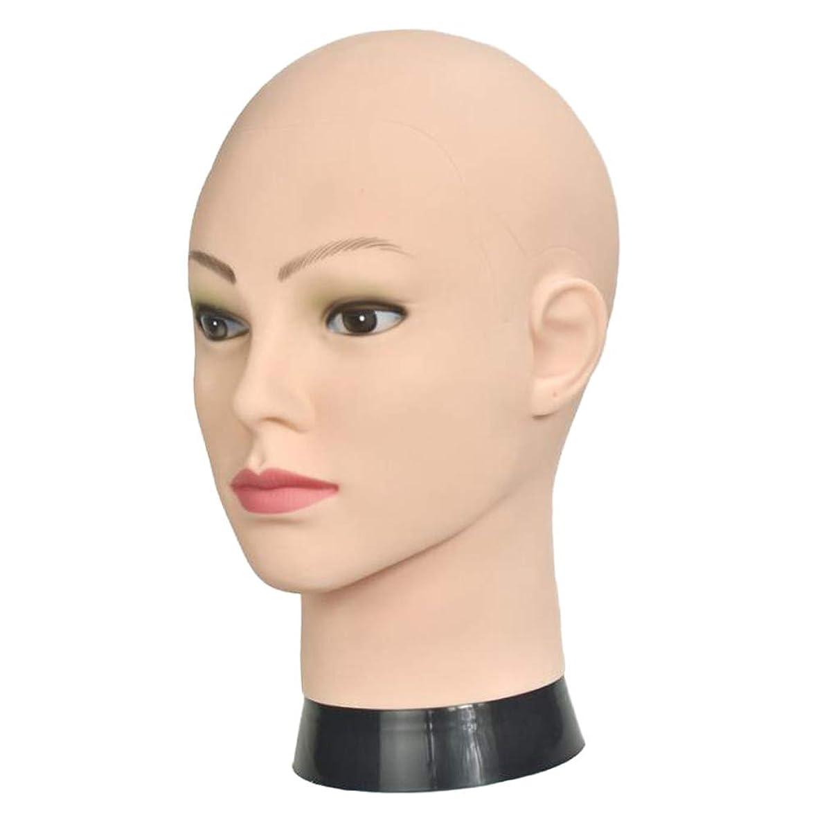 女性守るふつうSM SunniMix マネキンヘッド メイク 練習 メイクアップ ウィッグ かつら 帽子 ディスプレイ サロン 自宅
