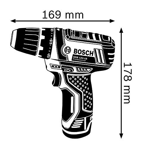 Bosch Professional GSR 10,8-2-LI Akku-Bohrschrauber   2×2,0 Ah Akku - 4