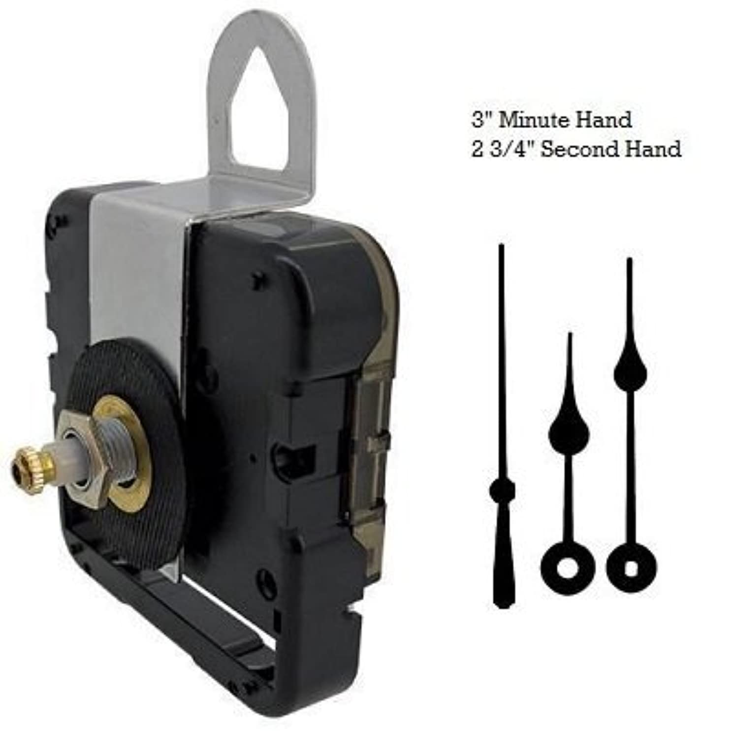 Seiko-SKP Quartz Clock Movement Mechanism With 3