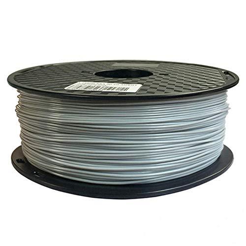 3D Printer Filament, ASA Filament 1.75mm, Anti-ultraviolet Outdoor Material High Strength, 1kg Spool-gray