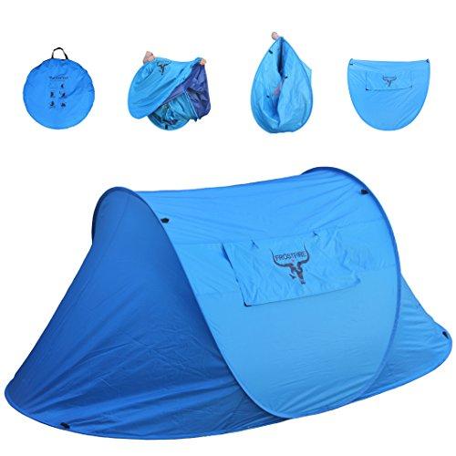 Grande Tenda Frostfire per 2 persone con Popup Istantaneo