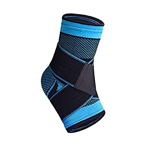 STRONG SUPPORT -- Ankle support fitted with crisscross reinforcement straps to offer strong support & stabilization for the ankle tendons and joints.Designed to minimize the risk of injury especially during the strenuous activities. ANKLE HEALTH -- A...