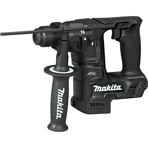 Makita XRH06ZB 18V LXT Lithium-Ion Sub-Compact Brushless Cordless 11/16' Rotary Hammer, Accepts Sds-Plus Bits, Tool Only