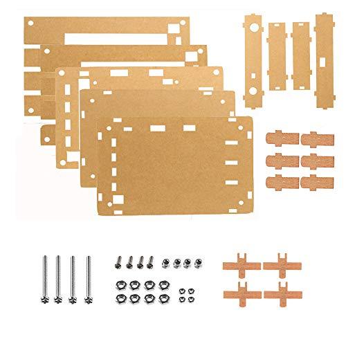 "DSO 138 Oscilloscope 2.4"" TFT Digital Oscilloscope Accessory Spare Parts Transparent Acrylic Case DIY Kit Electronic Learning Set (Acrylic Case DIY Kit)"