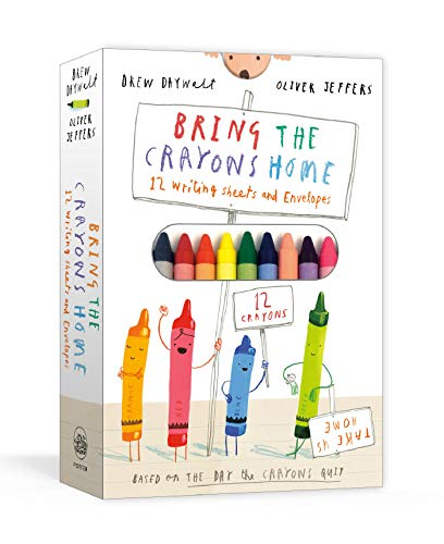 Bring the Crayons Home: A Box of Crayons, Letter-Writing Paper, and Envelopes