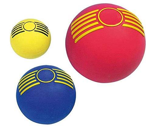 Karlie Boomer Vollgumm xi-Ball mit Squeeker 7.5 cm, 1 Stück, farblich sortiert