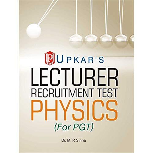 Lecturer Recruitment Test Physics
