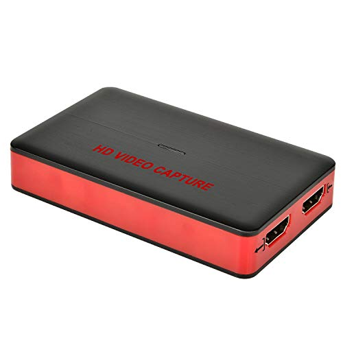 USB 3.0 HD Grabadora Video (Live Gamer Portable Full HD 1080P 60FPS Live Streaming Video Recorder Converter Box for - Capturadora portátil de Juegos HDMI)