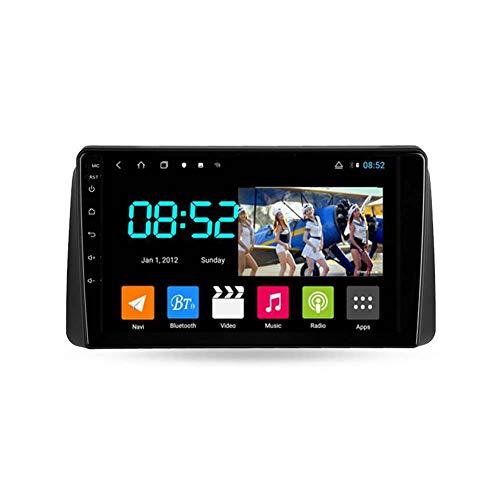 Autoradio Coche Bluetooth 2 Din Android Radio De Coche 9'' Pantalla Táctil Wifi Plug And Play Completo RCA SWC Soporte Carautoplay/GPS/DAB+/OBDII Para Chrysler Grand Voyager 5,Octa core,4G Wifi 4G+64G