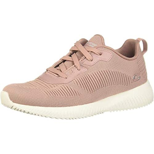 41CvA0kgh2L. SS500  - Skechers Women's Bobs Squad-Tough Talk Sneakers