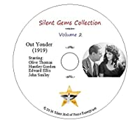"""DVD """"Out Yonder"""" (1919) starring Olive Thomas with Huntley Gordon, Classic Silent Drama"""
