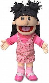 """14"""" Susie, Peach Girl, Hand Puppet"""