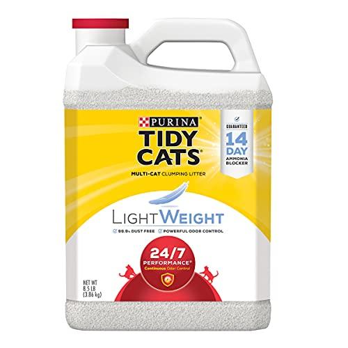 Purina Tidy Cats Leggero 24/7Performance Clumping lettiera per Gatti, Confezione da 2