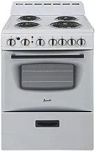 Avanti ERU240P0W White 24 Inch Electric Freestanding Range
