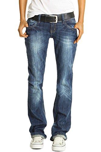 Bestyledberlin Damen Jeans Hosen, Baggyjeans j137p 38/M