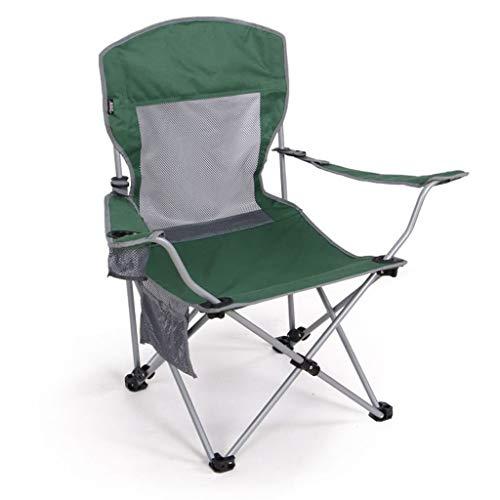 Chaise De Pêche Pliante en Plein Air Chaise De Plage Chaise De Plage Réglable À Deux Vitesses Esquissant Loisirs Pause Déjeuner Inclinable (Color : Green)