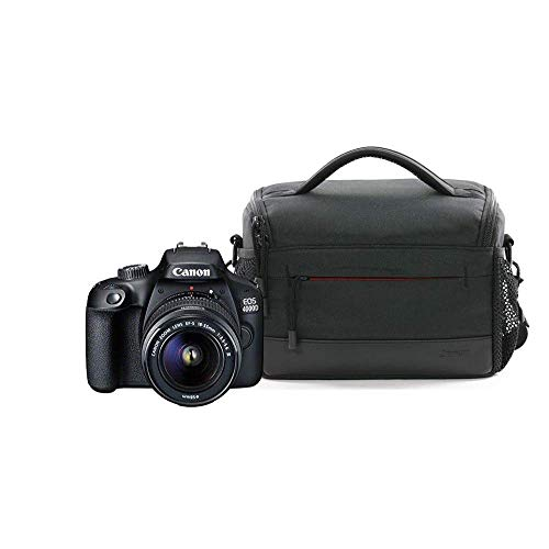 Canon EOS 4000D DSLR Camera and EF-S 18-55 mm f/3.5-5.6 III Lens Body + 18-55 mm Lens and Camera Bag