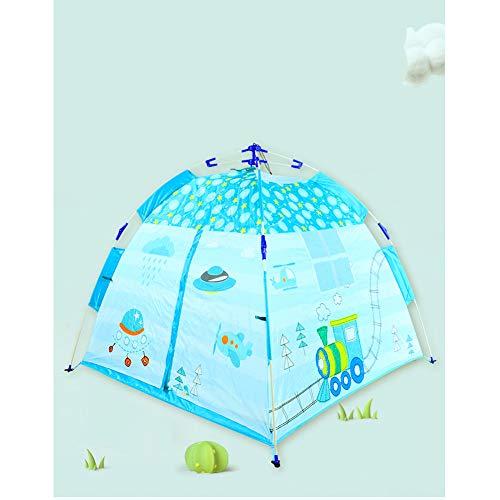 YYFZ Tenten voor meisjes tenten voor meisjes binnen Kinderen snel open inklapbare tent Gemakkelijk op te bergen zonder ruimte grootte 120 * 120 * 110cm'