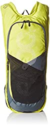 EVOC CC 3 Race Backpack | Hydration Backpack for Biking, Hiking, Climbing, Running | 3L Capacity | Holds Up to 2L Hydration Bladder (Included) | Red/Black (Yellow/Dark Blue)