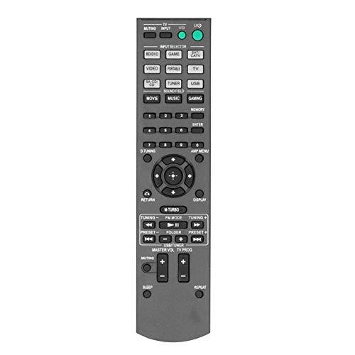 Kudoo Controle remoto de TV adequado para sistema de home theater Sony AV HTM3/HTM5/HTM7/STRKM3/STRKM5/STRKM7/HT‑M3/HT‑M5/HT‑M7/STR, design ergonômico e à prova d'água (preto)