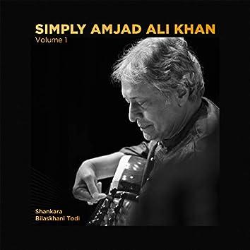 Simply Amjad Ali Khan - Vol. 01