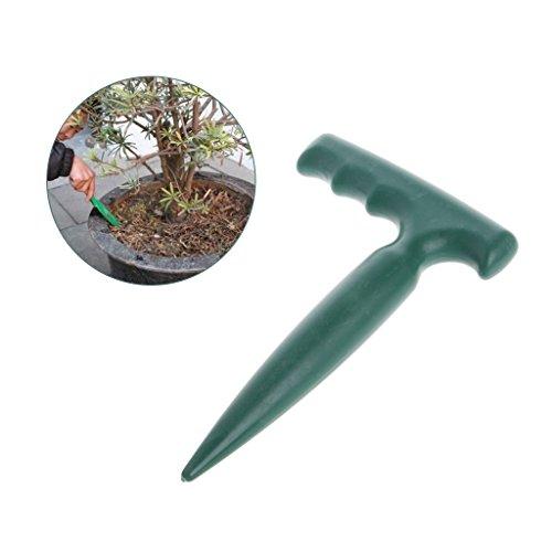 Qisuw Outils de Jardinage Sol Dibber-Plastic Plantoir Creuser Trou Outil Jardin bonsaï Fleur Plantation désherbage semis