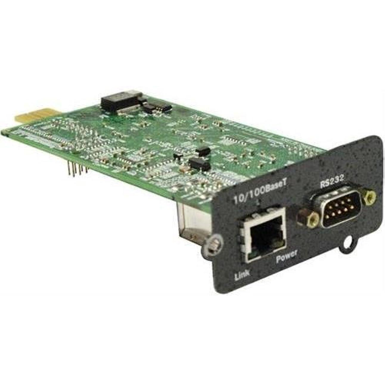 本部冊子パパLiebert Intellislot is-webcard管理Webカード、10?/ 100base - TX、シリアル