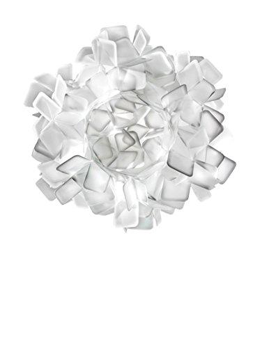 Slamp Clizia Ceiling Lampada Parete/Soffitto, Bianco