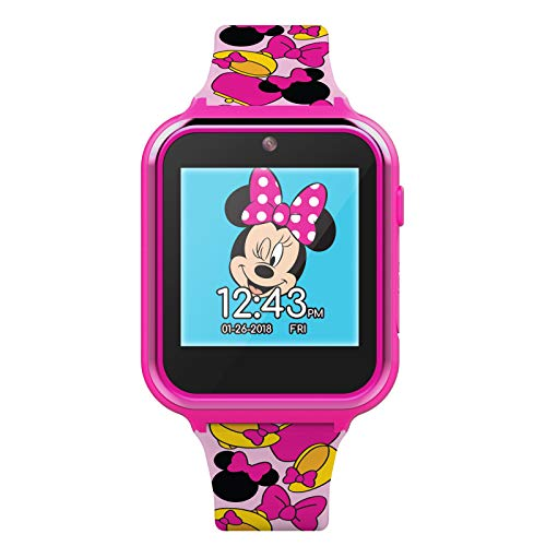 Disney Minnie Mouse Touchscreen Interactive Smart Watch (Model: MN4116AZ)