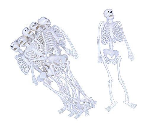 Skeleton. White PVC 12\