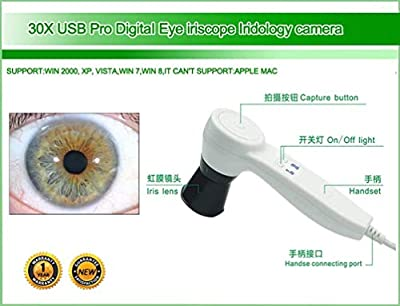 Iridology Camera USB Iriscope Iris Analyzer with English and Spanish Software by maikong