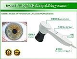 Iridology Camera USB Iriscope Iris Analyzer with English and Spanish Software