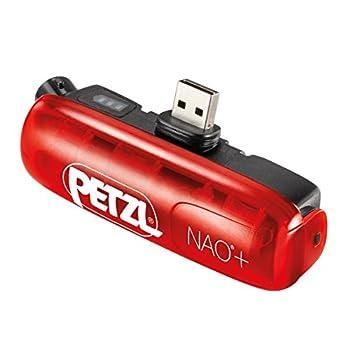 Petzl Nao+Accessoire d'éclairageRouge/Noir