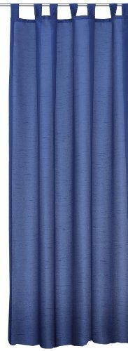 Übergardine Dekoschal #256 Vorhang Blickdicht/lichtdurchlässig Schlaufen Gardine Moderne Unifarbe (blau,...