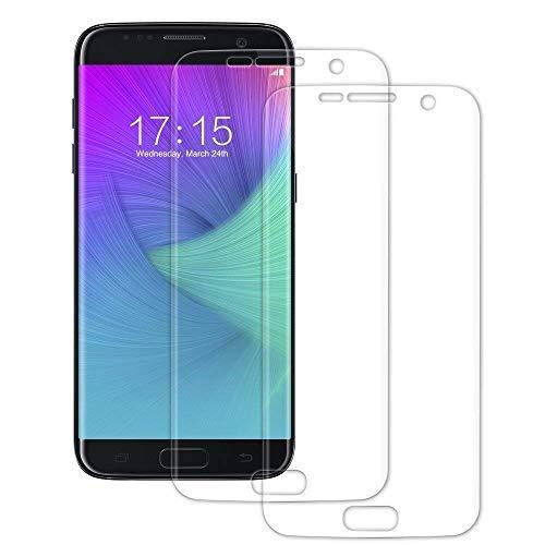 AEX Samsung Galaxy S7 Edge 3D Curve volledig gehard glas 9H scherm volledige beschermer (Pack van 2)