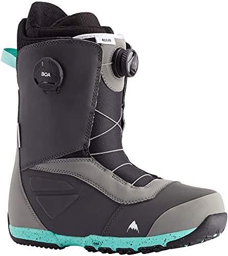 Burton Ruler BOA Mens Snowboard Boots Sz 10 Gray/Teal