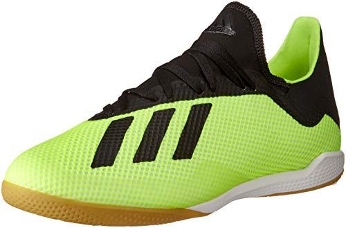 adidas X Tango 18.3 in, Scarpe da Calcetto Indoor Uomo, Giallo (Amasol/Negbás/Ftwbla 001), 44 2/3 EU