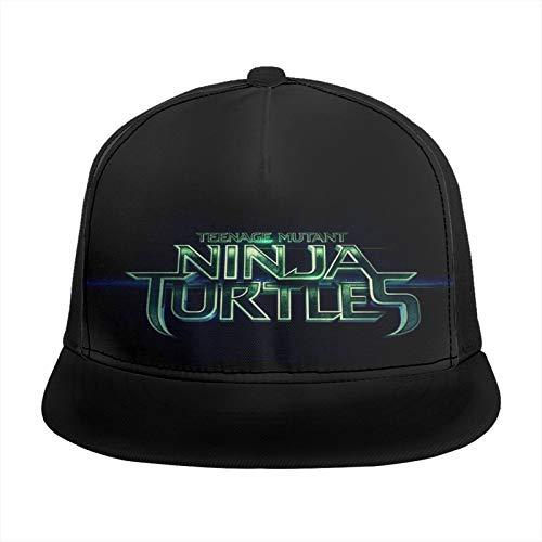 YooHome Teenage Mu-tant NI-nja Turtles Baseballmütze Einzigartig Kappen Sport Kopfbedeckung Angeln Camping Wandern Kopfbedeckung