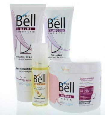 HairBell Shampoo + Conditioner + Maske + Booster Serum