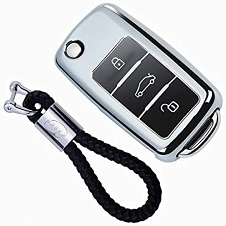 Kaser Autoschlüssel Hülle Für Vw Volkswagen Cover Tpu Elektronik