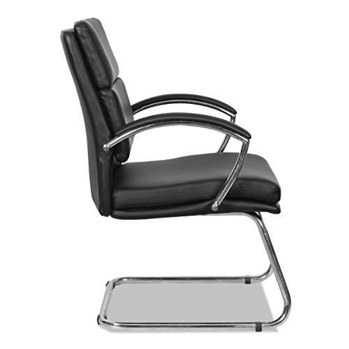 Alera Madaris Leather Guest Chair