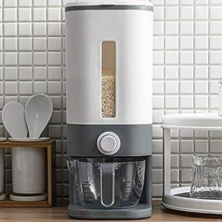 Boîte de Rangement de Distributeur de céréales en Plastique Automatique Tasse à mesurer Cuisine réservoir de Nourriture co...