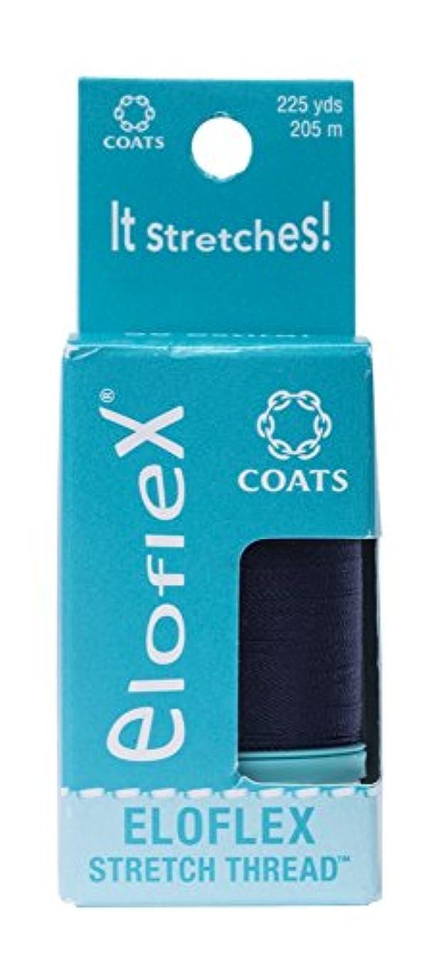 Coats Eloflex Stretch Thread, Navy