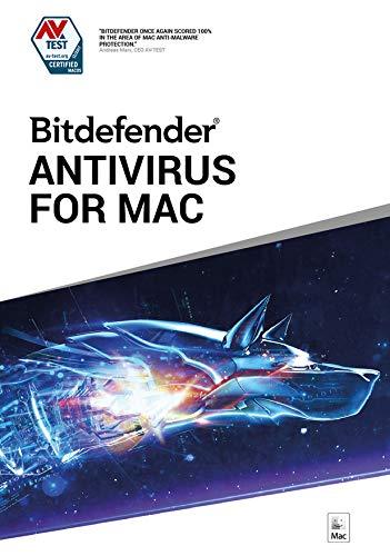 Bitdefender Antivirus for Mac | Standard | 1 Mac appareil | 1 An | Mac | Code d'activation Mac - envoi par email